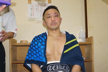 粟生隆寛が3年ぶり復帰戦勝利、...