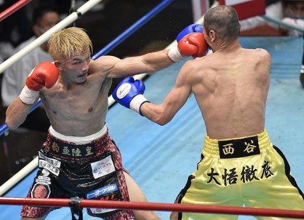 尾川堅一ピンチ乗り越え勝利 西谷和宏は無念 S・フェザー級世界 ...
